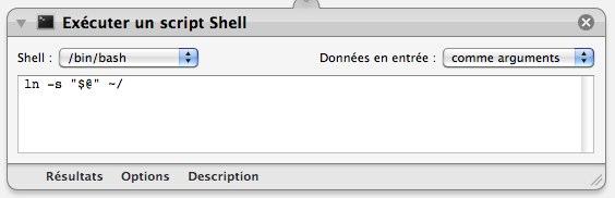 Executer shell script