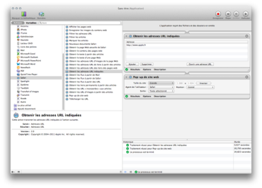 Automator :: Comment créer une application Web Autonome