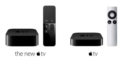 2 apple TV
