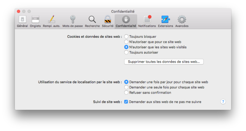 safari_confidentialité